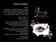 Graphic Designer / Photo Retouch Available