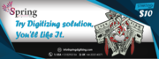 Spring digitizing,  a platform where you can find lowest initial price