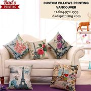 Decorate Your Place With Custom Pillows!