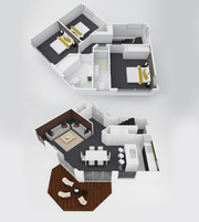 3D Architectural Rendering and Floor Design Services